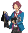 (Staff Trainee) Mao Isara Full Render Bloomed