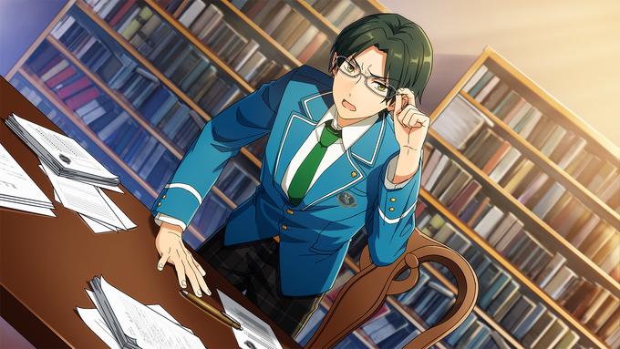 (Willpower and Pride) Keito Hasumi CG