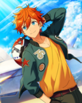 (Scorer of the Blue Sky) Subaru Akehoshi Frameless Bloomed