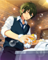 (Train Conductor's Whistle) Mika Kagehira Frameless