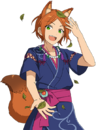 (Ghost Fox) Hinata Aoi Full Render Bloomed