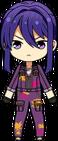 Souma Kanzaki Colorful Overalls chibi