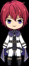 Tsukasa Suou Commander chibi