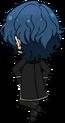 Tsumugi Aoba Gravekeeper chibi back