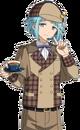 (Black Tea Detective) Hajime Shino Full Render Bloomed