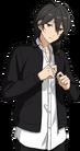 (Little Brother and Flowers) Rei Sakuma Full Render