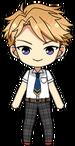 Arashi Narukami Summer Uniform chibi