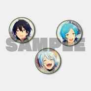 Rei Kanata Wataru Button Badges