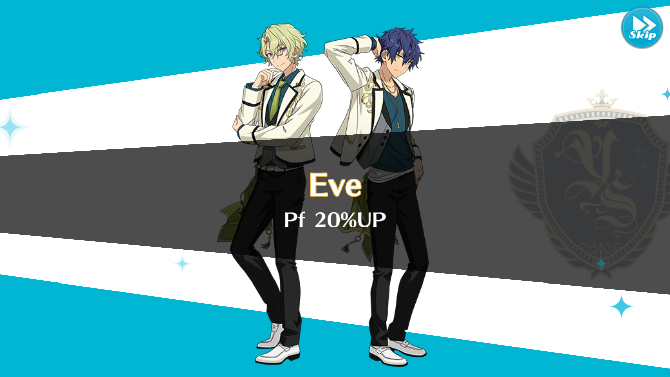 Eve 20% Up