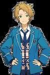 Makoto Yuuki School Noglasses Render
