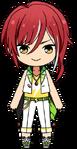 Natsume Sakasaki Switch Uniform chibi