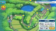 Yowamushi Pedal Collaboration Map Overview