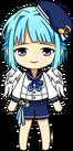 Hajime Shino Ra*bits Uniform Winged chibi
