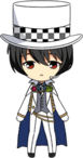 Ritsu Sakuma Phantom Thief chibi