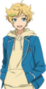 Sora Harukawa (Card) Full Render