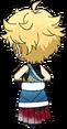 Sora Harukawa First Dream Outfit chibi back