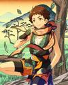 (Straightforward Ninja) Mitsuru Tenma Frameless Bloomed