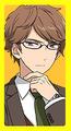 Akiomi button