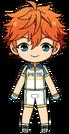 Subaru Akehoshi Cycling Jersey Outfit chibi