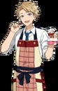 (Chocolatier) Arashi Narukami Full Render Bloomed