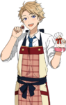 (Chocolatier) Arashi Narukami Full Render Bloomed