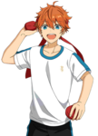 (Tamaire Pitcher) Subaru Akehoshi Full Render Bloomed