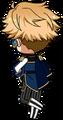Arashi Narukami ES Knights Uniform chibi back