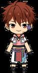 Chiaki Morisawa Tanabata Outfit chibi