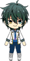 Mika Kagehira ES Idol Uniform chibi