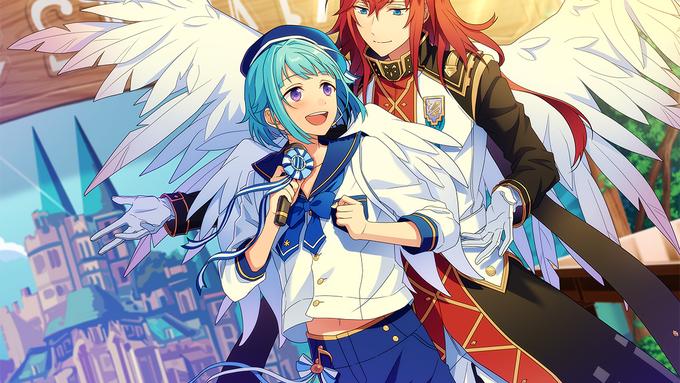 (Angel and Singing Voice) Hajime Shino CG