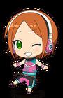 Hinata Aoi Anime Chibi