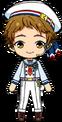 Mitsuru Tenma ES Ra*bits Uniform chibi