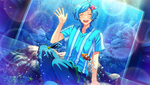 (Aquarium ♪) Kanata Shinkai CG
