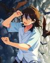 (Wind-Reading Surfer) Rei Sakuma Frameless