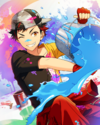 (Friendship Painter) Tetora Nagumo Frameless Bloomed