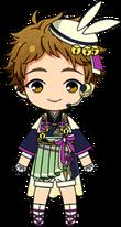 Mitsuru Tenma Tsukimi Outfit chibi