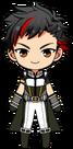 Tetora Nagumo Hero Show uniform chibi