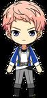 Shu Itsuki academy idol uniform chibi