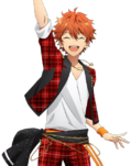 (Trickstar's Brilliant Star) Subaru Akehoshi Full Render Bloomed