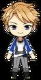 Arashi Narukami academy idol uniform chibi