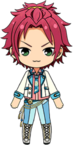 Mao Isara Dazzling Victory Cup chibi