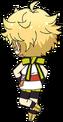 Sora Harukawa Ninja chibi back