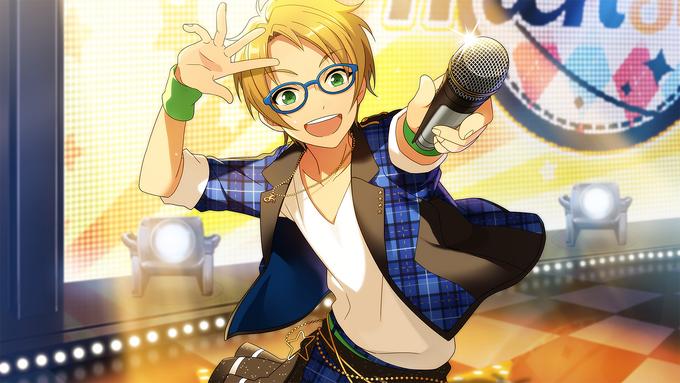 (Cheerful Glasses Boy) Makoto Yuuki CG2