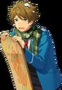 (Snow Field Snowboarder) Midori Takamine Full Render