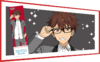 Chiaki Morisawa JINS Glasses Closeup