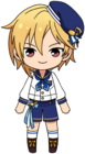 Nazuna Nito Rabbits uniform chibi