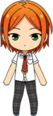 Yuta Aoi Summer Uniform chibi