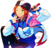 (2wink World) Hinata Aoi Full Render Bloomed