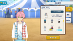Tori Himemiya Circus Practice Outfit