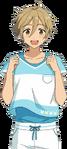 (Admired Back) Tomoya Mashiro Full Render Bloomed